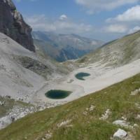 Il Monte Vettore e il Lago di Pilato