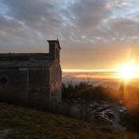 """Eremo """"Le Celle"""", la Basilica di Santa Margherita di Cortona e la Fortezza del Girifalco"""