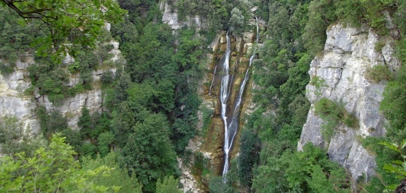 cascate del verde pana