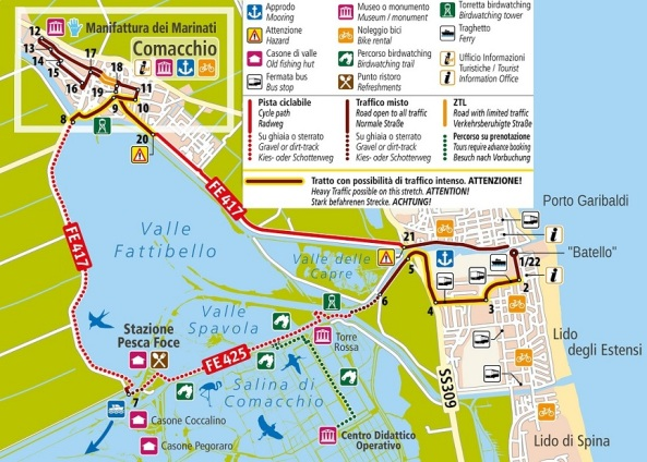 Bike Map Valli